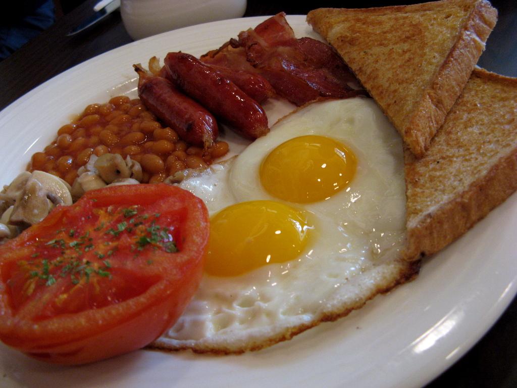 English Breakfast Recipe — Dishmaps